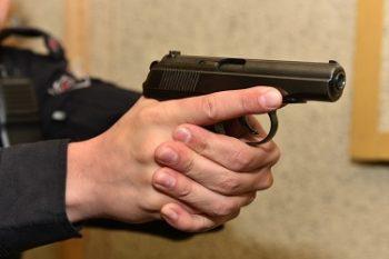 Пистолет в захват